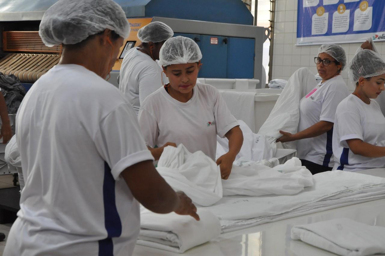 HGP aperfeiçoa serviços de apoio e aumenta em 75% capacidade da lavanderia