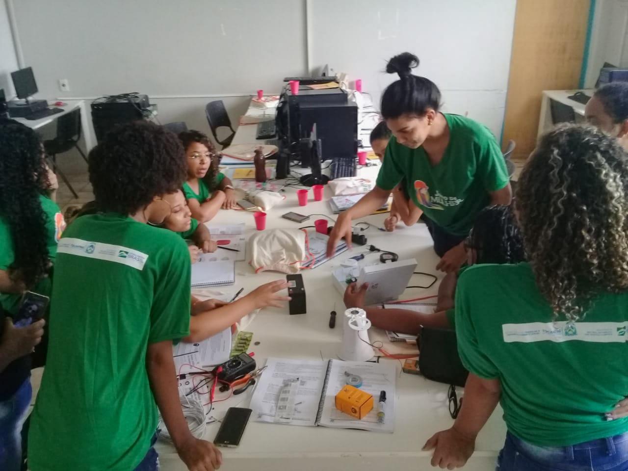 Qualificação para mulheres promovida pelo Governo encerra nesta sexta em Dianópolis