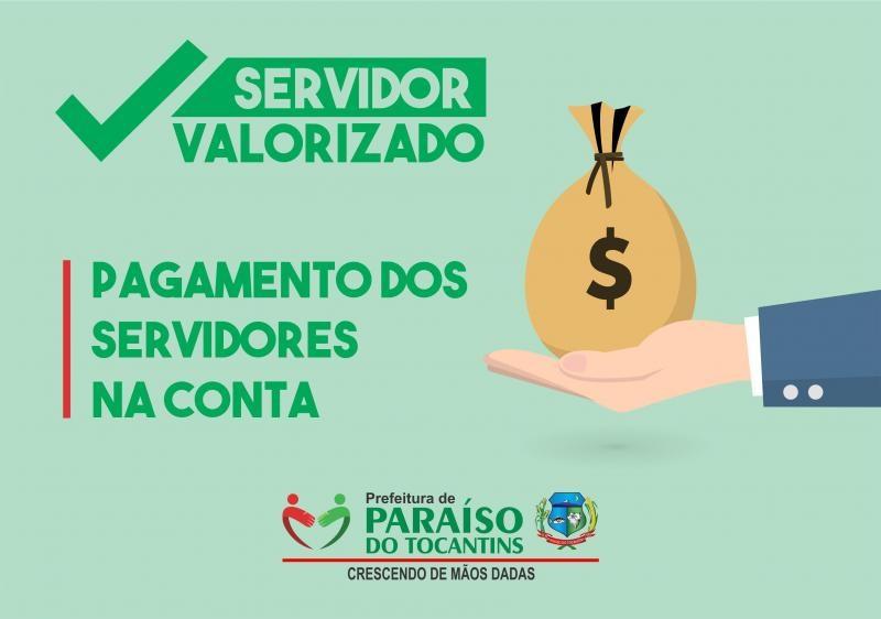 Prefeitura de Paraíso paga salário dos servidores e incentivos a funcionários da saúde