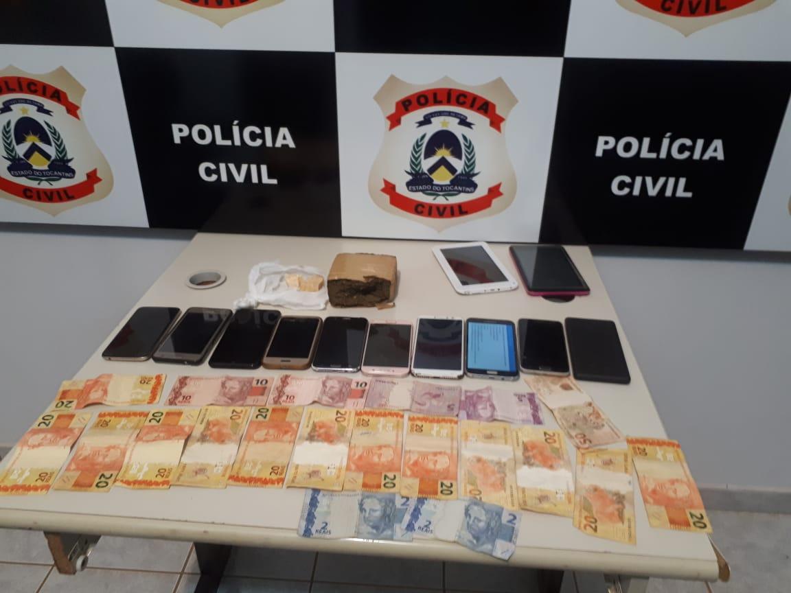 Polícia Civil prende na Capital mulher por tráfico de drogas