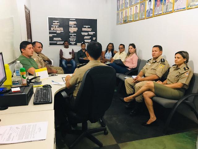 PM e representantes de municípios do Bico reúnem para assinatura de termo de cooperação para o Carnaval 2020