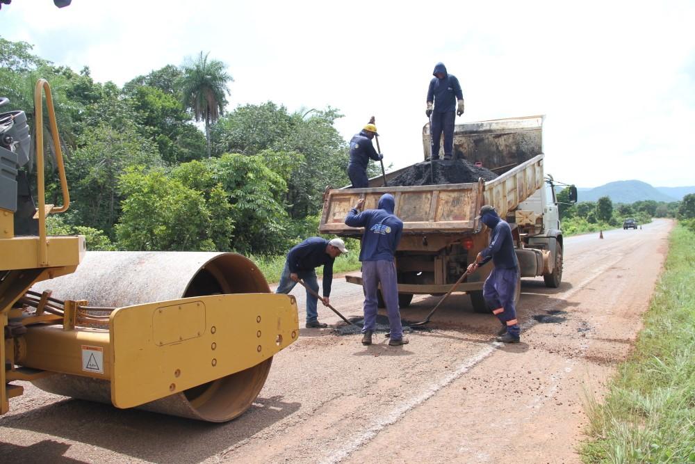 Governo do Tocantins intensifica trabalho de manutenção e recuperação de estradas e rodovias estaduais