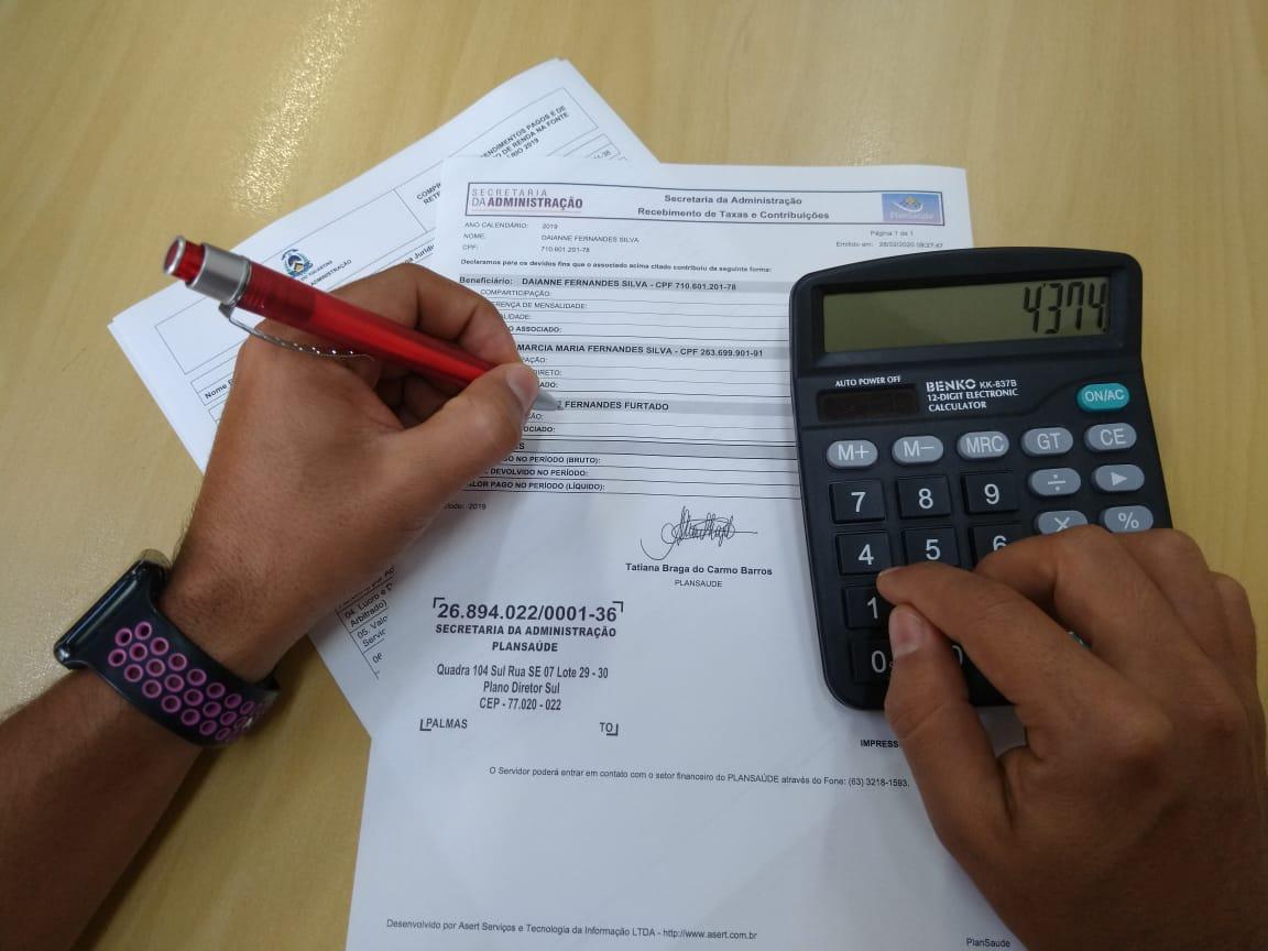 Comprovante de rendimentos para IR já está disponível no Portal do Servidor