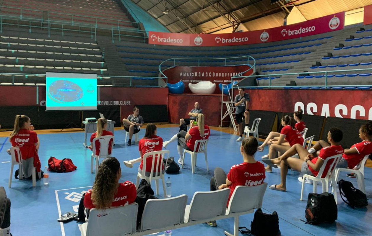 Osasco protege suas atletas contra o novo coronavírus e programa treinos em casa