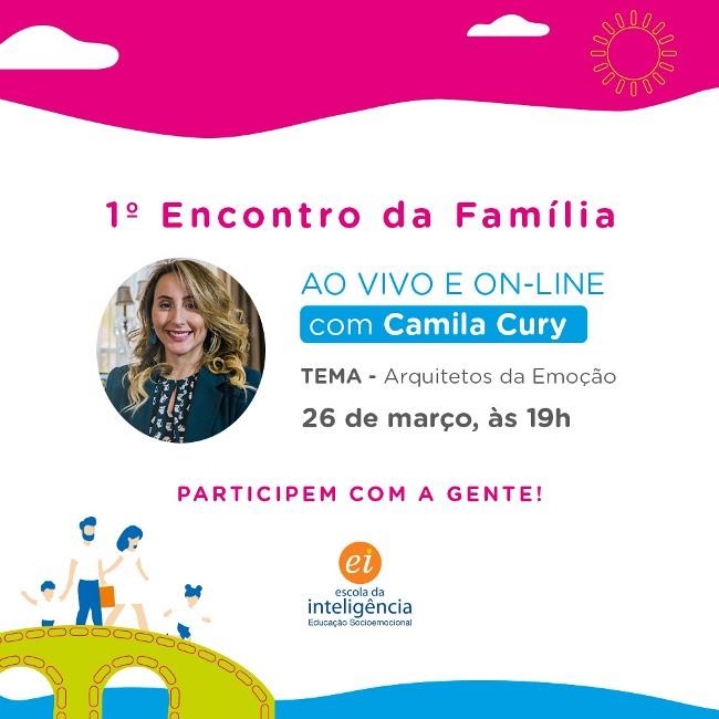 Escola Raio de Sol, em Paraíso, promove 1º Encontro da Família on-line ao vivo