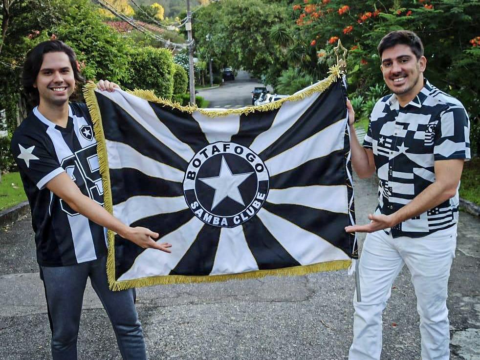 Marcelo Adnet e Ricardo Hessez são os novos carnavalescos da Botafogo Samba Clube