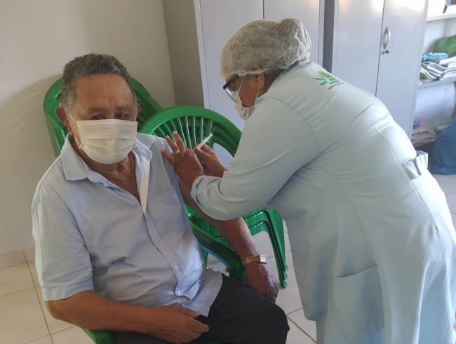 Saúde de Tabocão segue com primeira etapa da vacinação contra a gripe