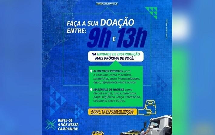 PRF lança a campanha Siga em Frente, Caminhoneiro