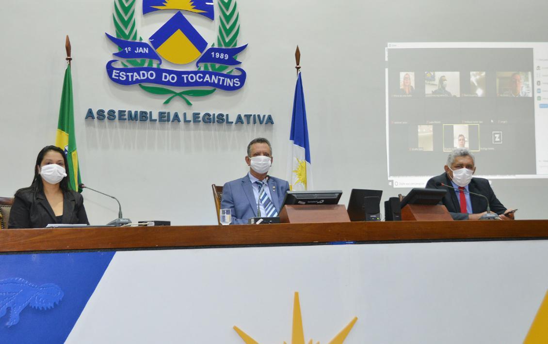 Assembleia reconhece estado de calamidade pública no Tocantins
