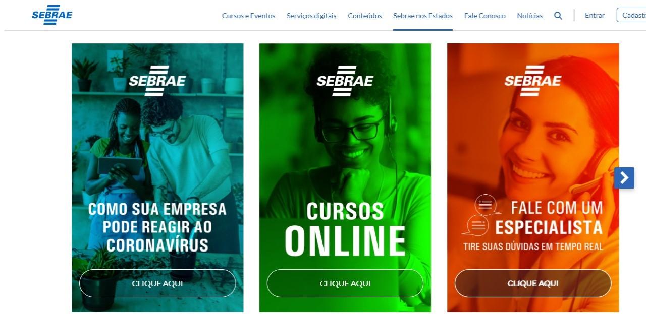 Sebrae oferece mais de 100 cursos online, e-books e jogos gratuitos