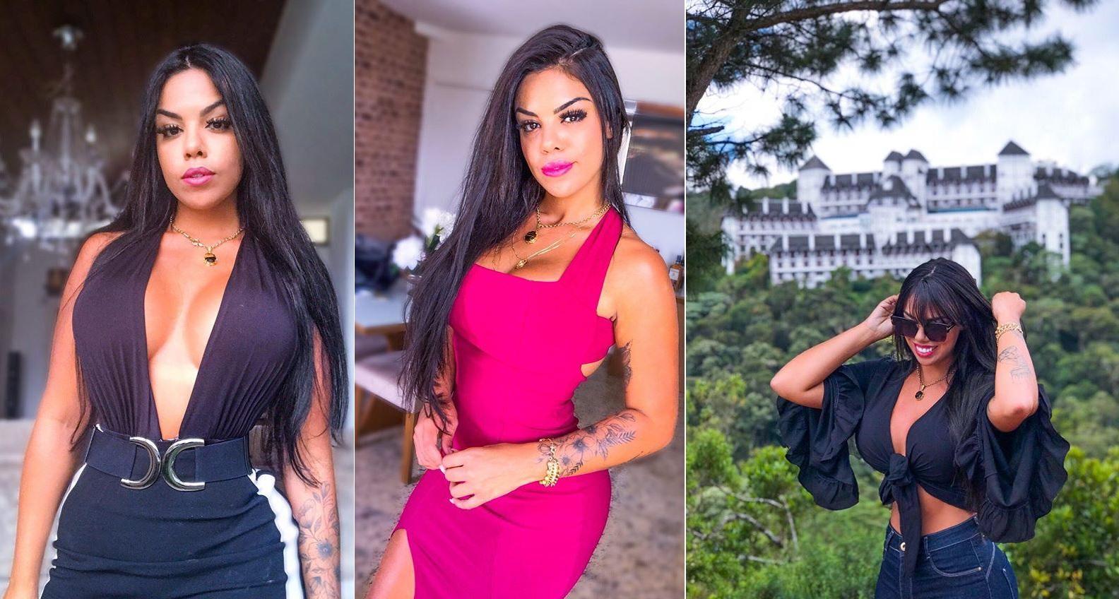 Modelo Ingrid Bragança faz sucesso nas redes sociais