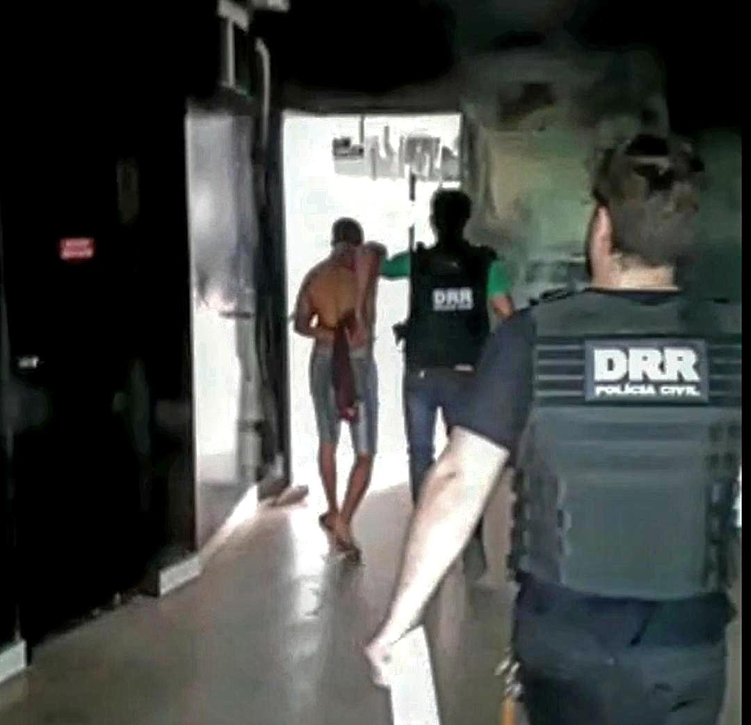 Polícia Civil prende suspeito de roubo ocorrido em 2015, em Araguaína