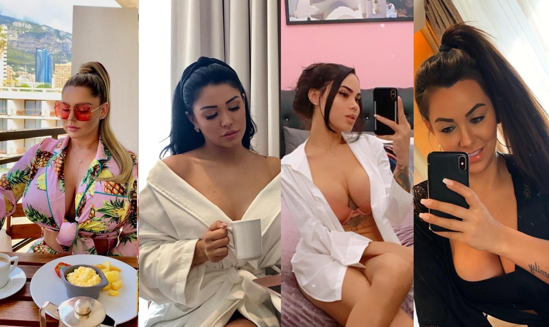 Famosas do Instagram mostram o que estão vestindo na quarentena e falam como lidam