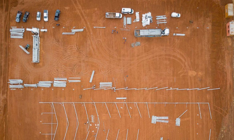 Hospital de campanha em Águas Lindas – GO será construído em 15 dias