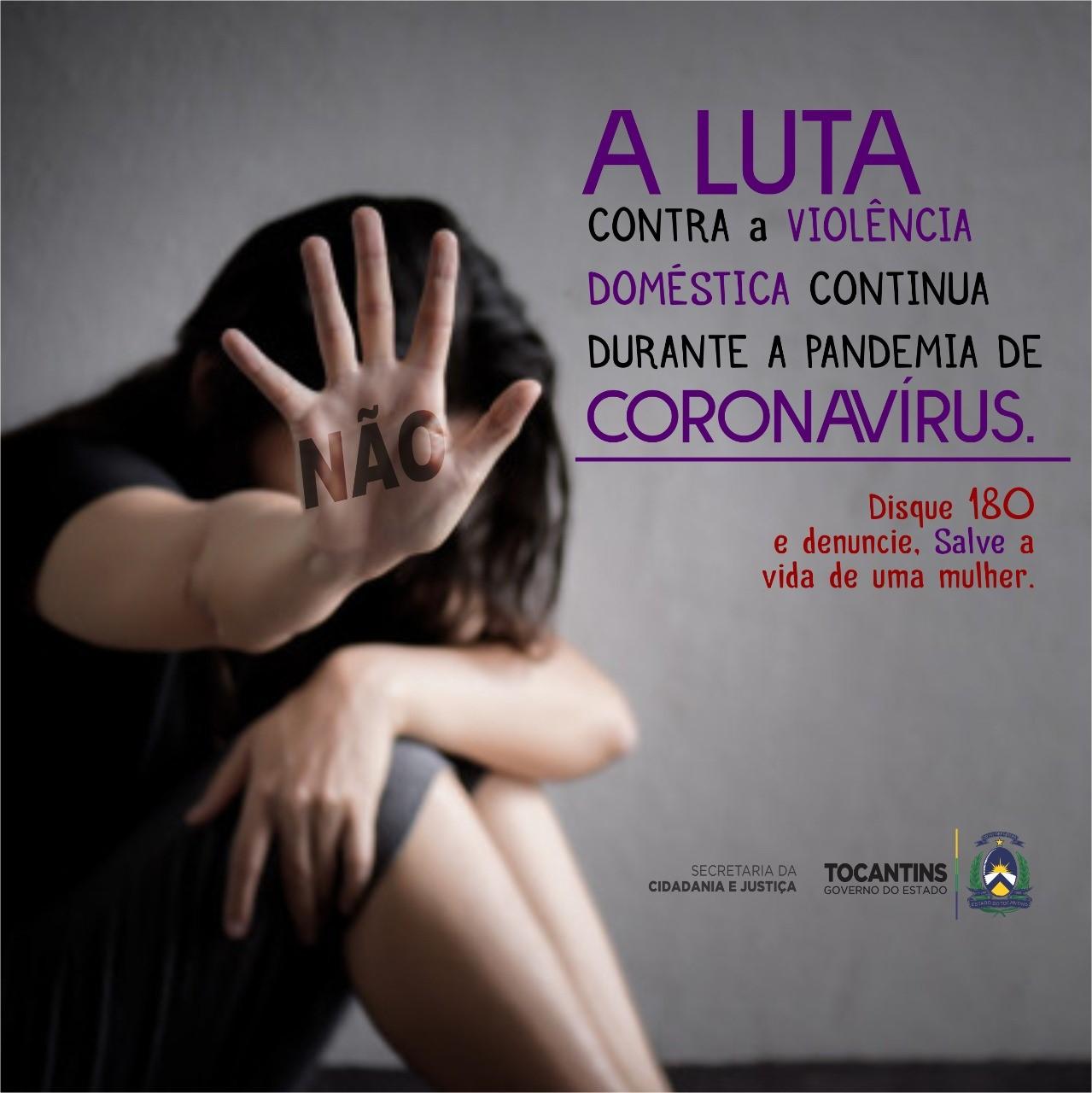 Cidadania e Justiça alerta para o aumento de violência doméstica contra as mulheres durante o isolamento social