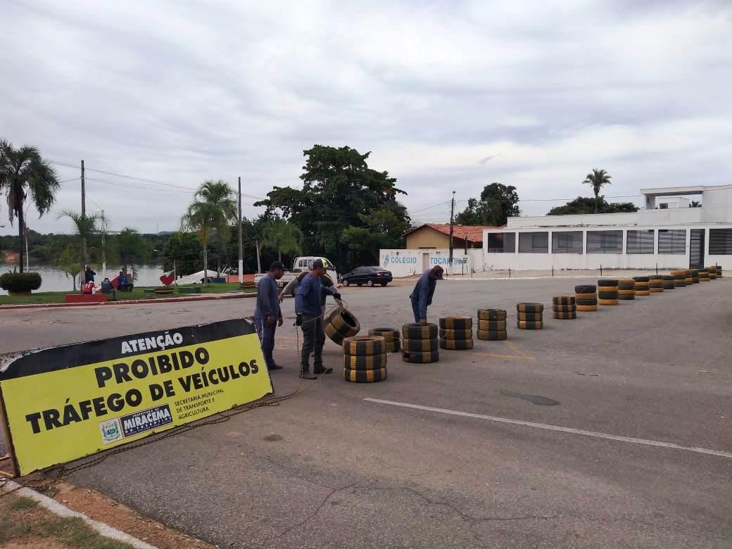 Prefeitura de Miracema interdita Ponto de Apoio por prevenção à proliferação do coronavírus