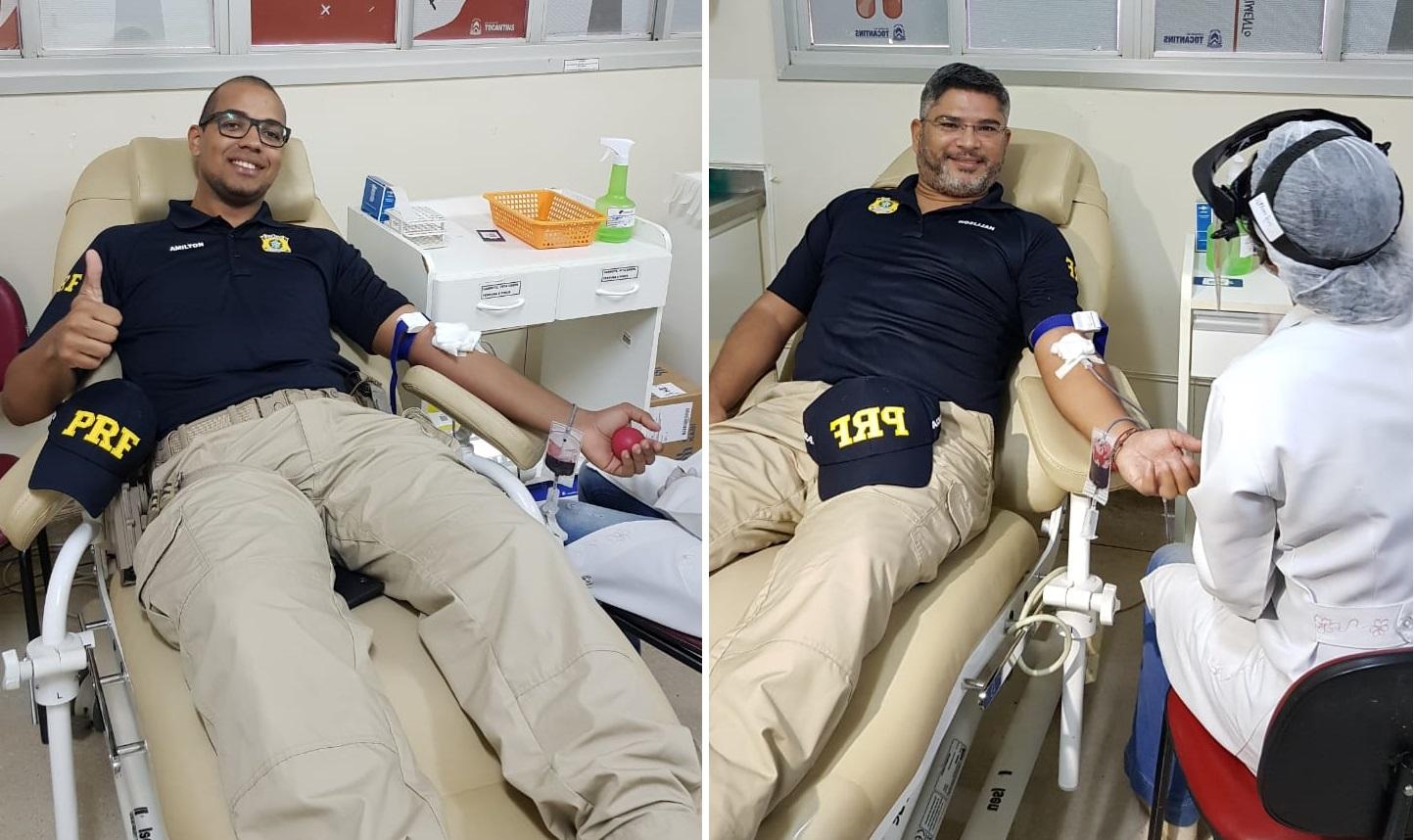 PRF lança campanha 'Desafio Sangue Solidário'