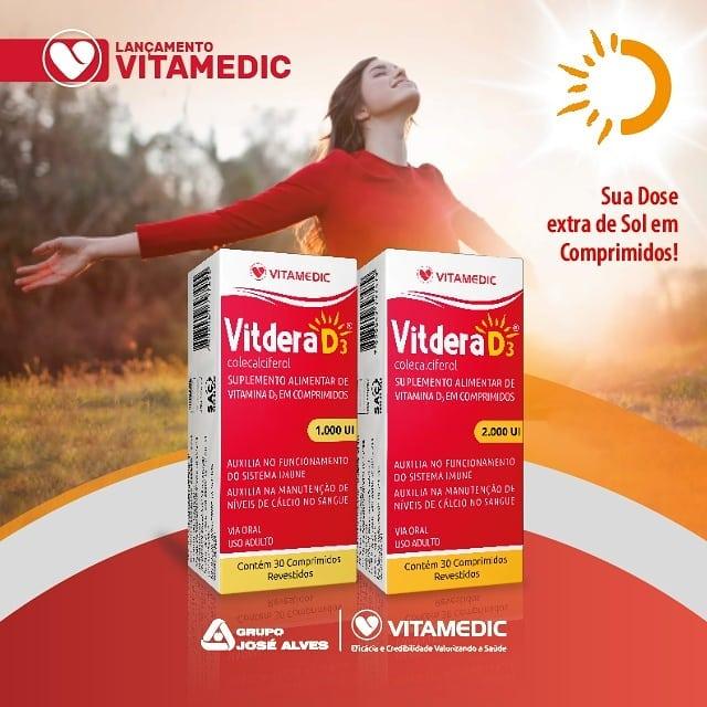 VITDERA D3: Sua dose extra de sol emcomprimidos e gotas