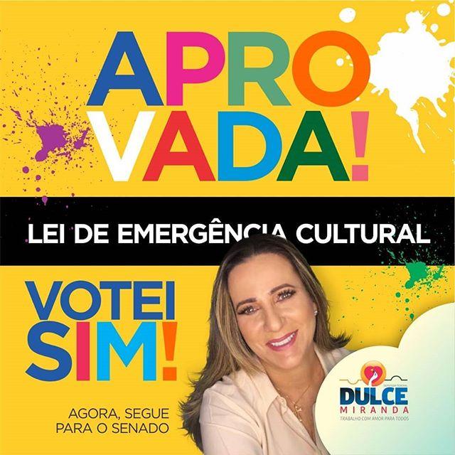Dulce Miranda vota a favor da ajuda emergencial para o setor cultural durante a pandemia