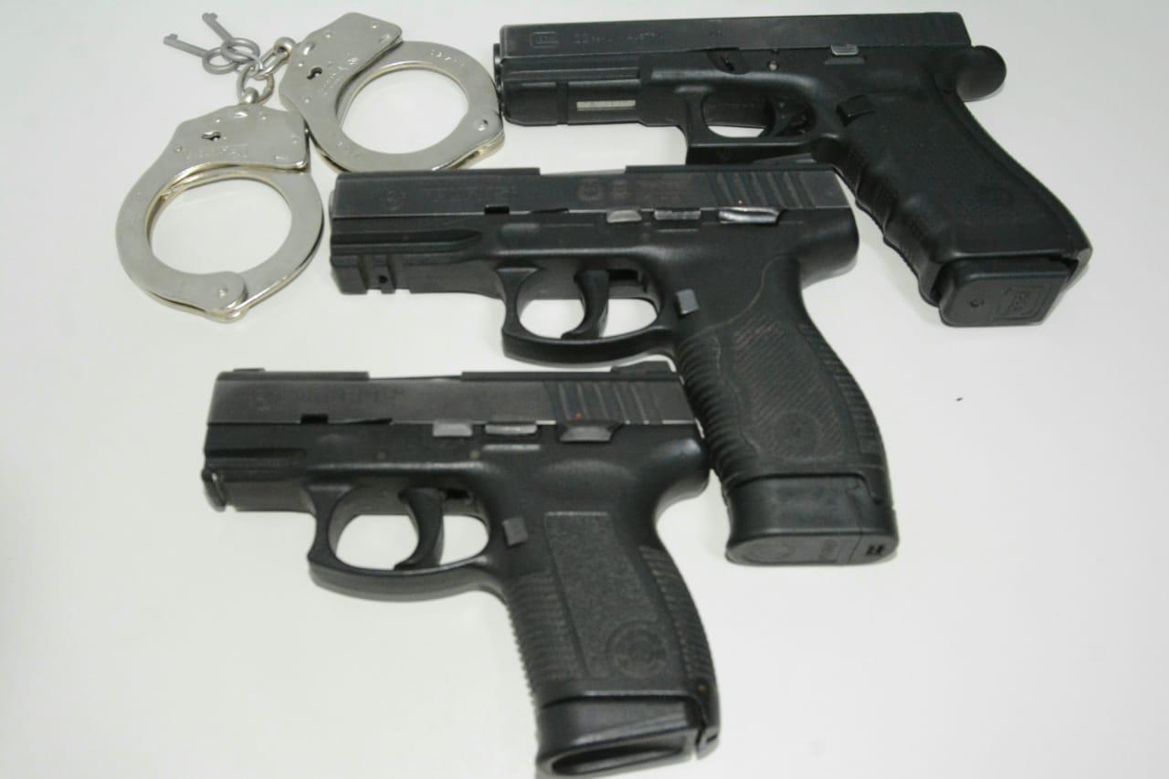 Polícia Civil prende suspeitos de praticar roubos em Porto Nacional