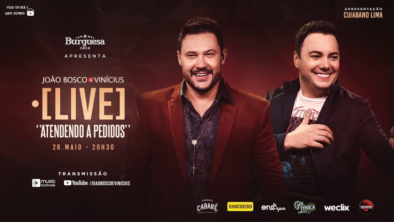 Ao vivo: veja 2ª live da dupla sertaneja João Bosco & Vinicius