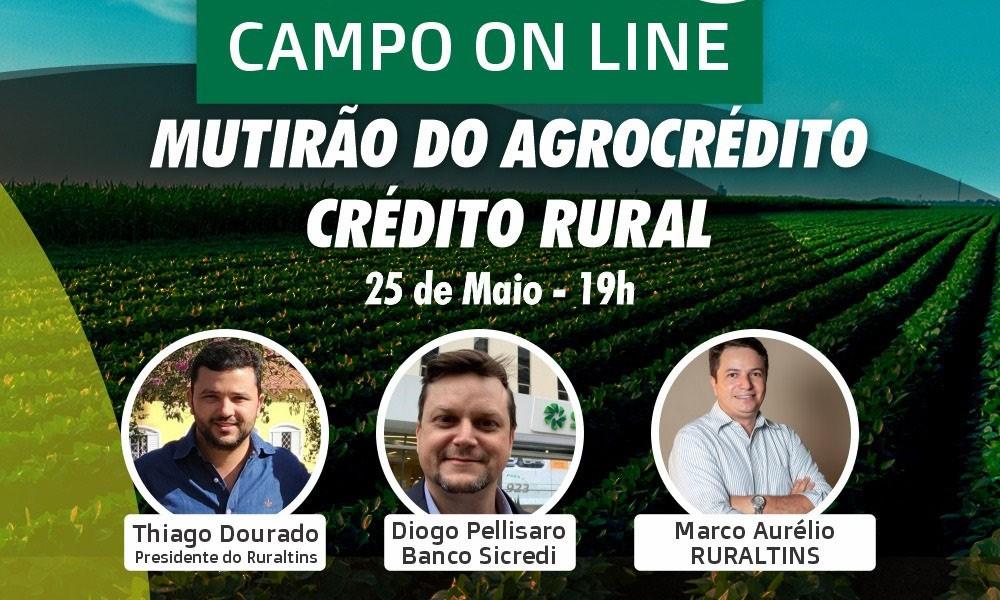 Ruraltins realiza série de debates nas redes sociais sobre extensão rural pública, crédito rural e comercialização de produtos na Ceasa