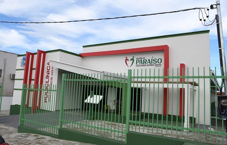 Policlínica de Paraíso volta a funcionar no prédio João Coelho de Azevedo após reforma e ampliação