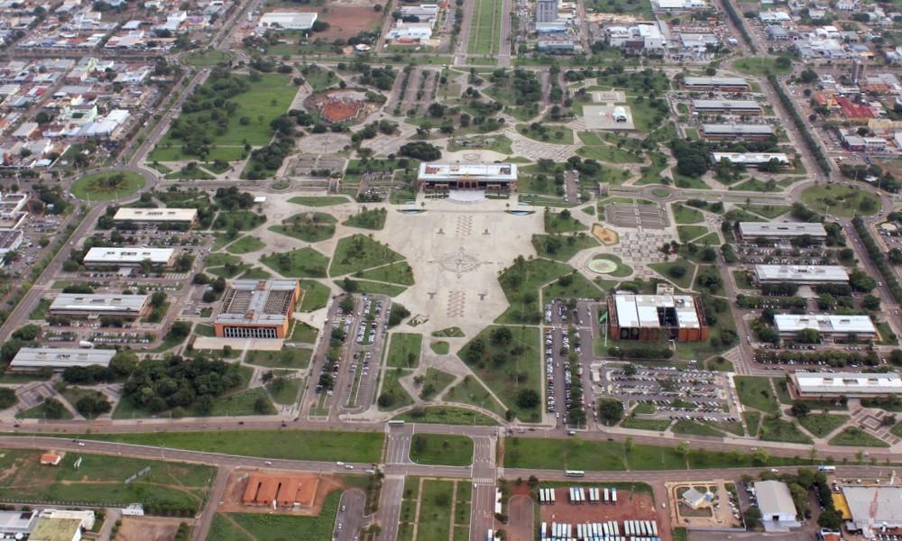 Governo do Tocantins realiza desinfecção em órgãos públicos e nas sedes dos poderes do Estado