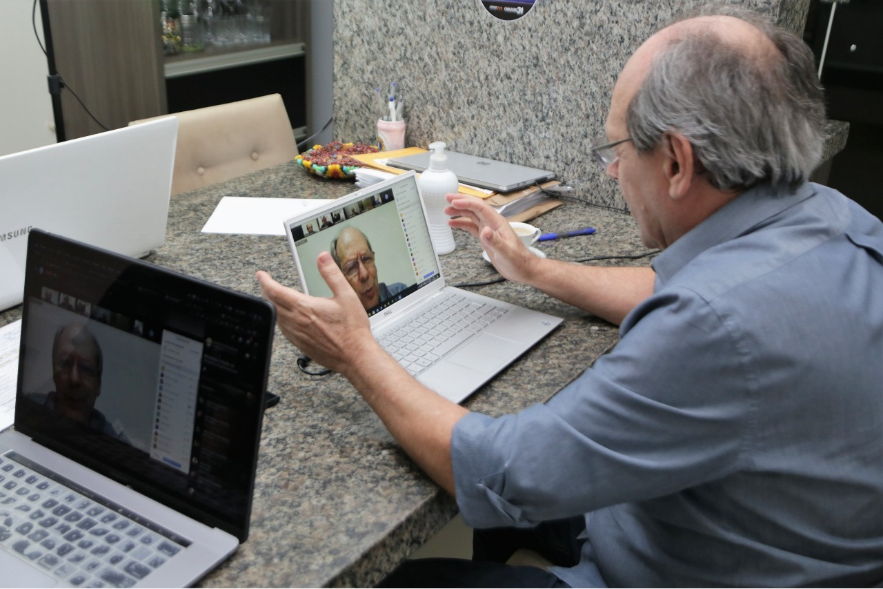 Prefeito Dimas realiza nova reunião remota de trabalho nesta quinta-feira, 28, em Araguaína
