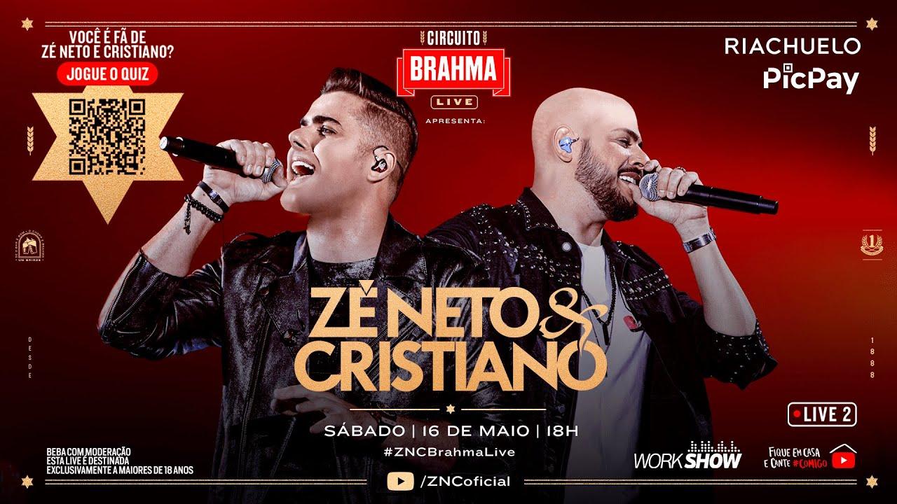 Live de Zé Neto & Cristiano: Assista ao show sertanejo online no YouTube