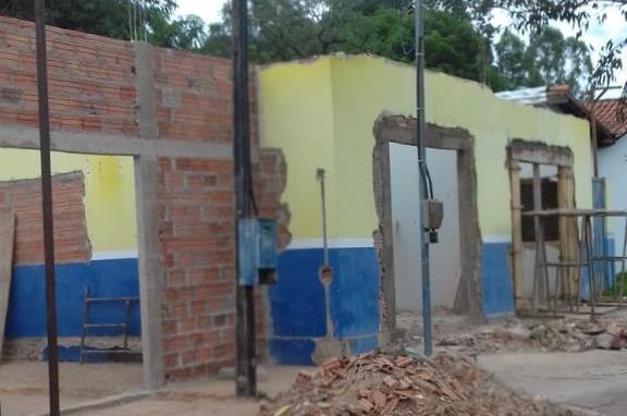 Obras de reforma e ampliação da Prefeitura de Brasilândia seguem cronograma e serão concluídas em agosto