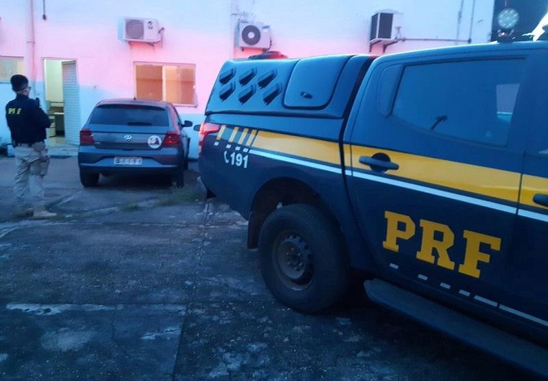 PRF e Exército recuperam veículo apropriado indevidamente em Pedro Afonso