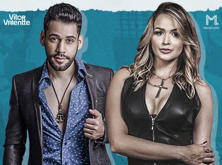 Vitor e Melissa se apresentam em live beneficente nesta sexta-feira, assista ao vivo