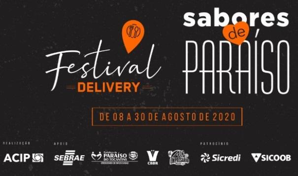Festival Delivery Gastronômico Sabores de Paraíso começa neste sábado