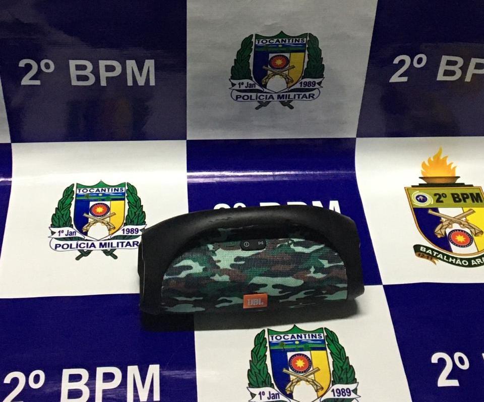 PM apreende quatro aparelhagens de som em Araguaína