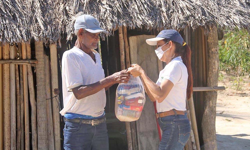 Governo do Tocantins segue entrega de alimentos a famílias assentadas e comunidades quilombolas no Jalapão