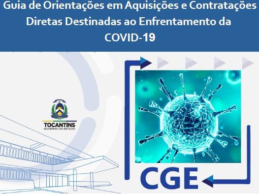 Conselho Nacional de Controle Interno publica Guia da CGE Tocantins como mais uma das ferramentas de orientações para enfrentamento da Covid-19