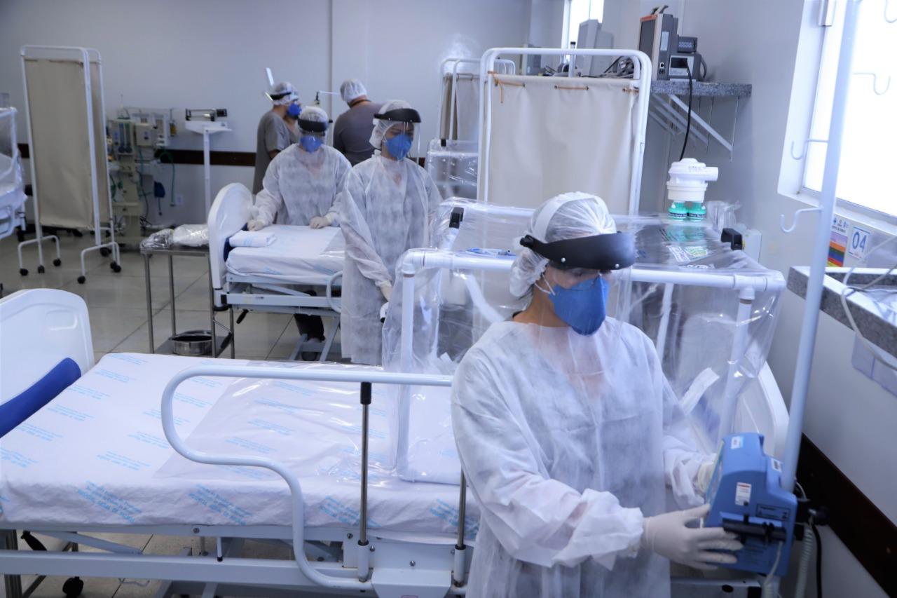Governo do Tocantins contrata 70 novos leitos e profissionais e amplia oferta de UTI's para enfrentar o novo Coronavírus