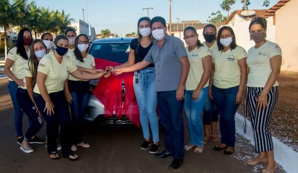 Prefeitura de Barrolândia entrega novo veículo e equipamentos para a Assistência Social