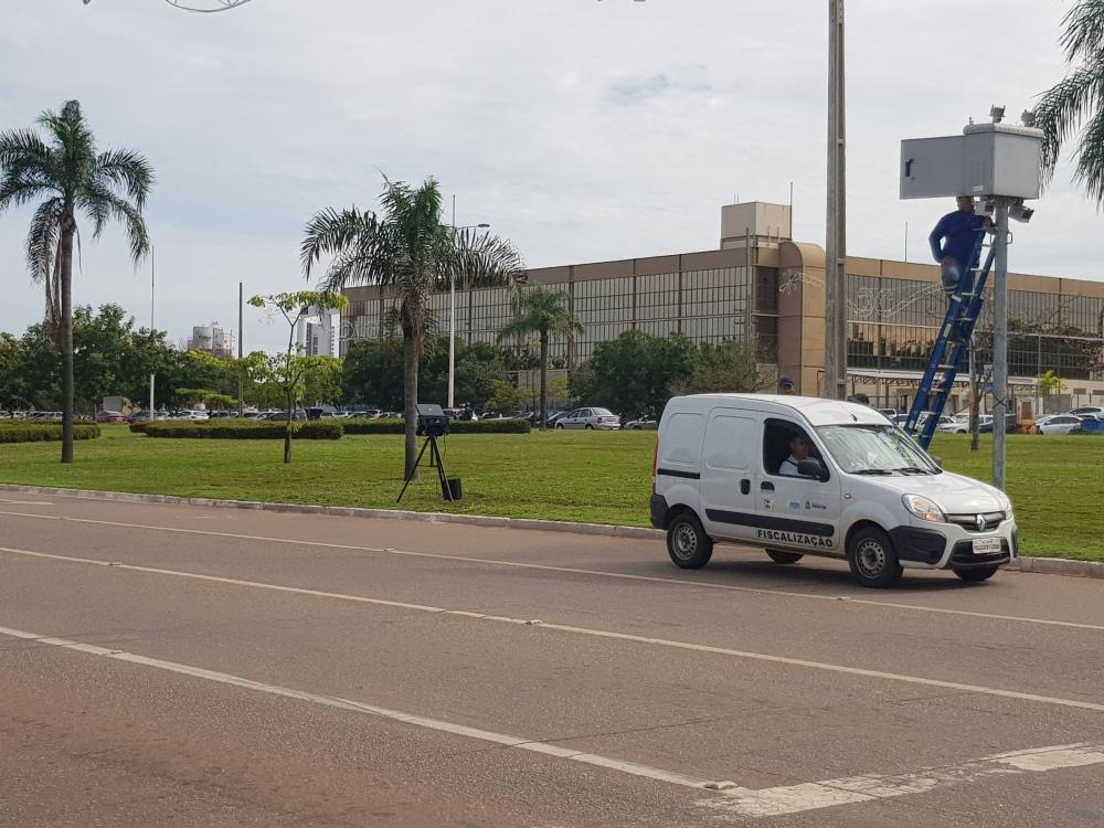 Radares de Palmas são verificados pela Agência Estadual de Metrologia