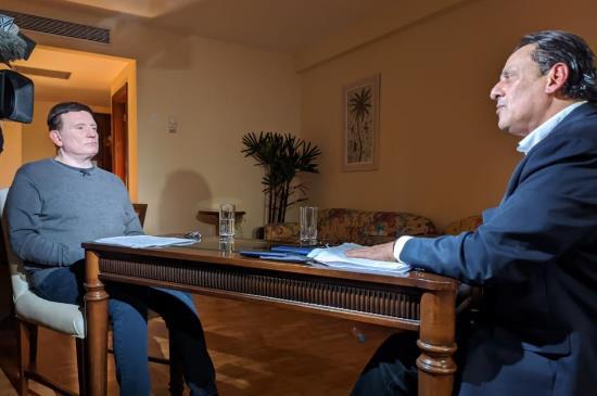 Roberto Cabrini traz entrevista exclusiva com Frederick Wassef nesta segunda, 6