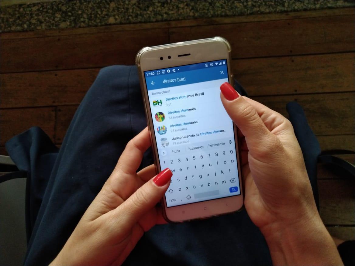 Telegram passa a ser utilizado como canal de denúncias de violações de direitos humanos