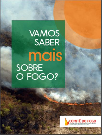 Comitê do Fogo lança Cartilha Digital com informações sobre queimadas