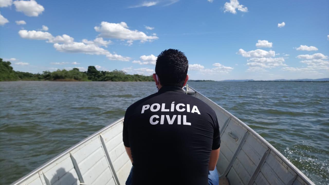 Polícia Civil intensifica fiscalização de distanciamento social em praias da cidade de Santa Fé do Araguaia