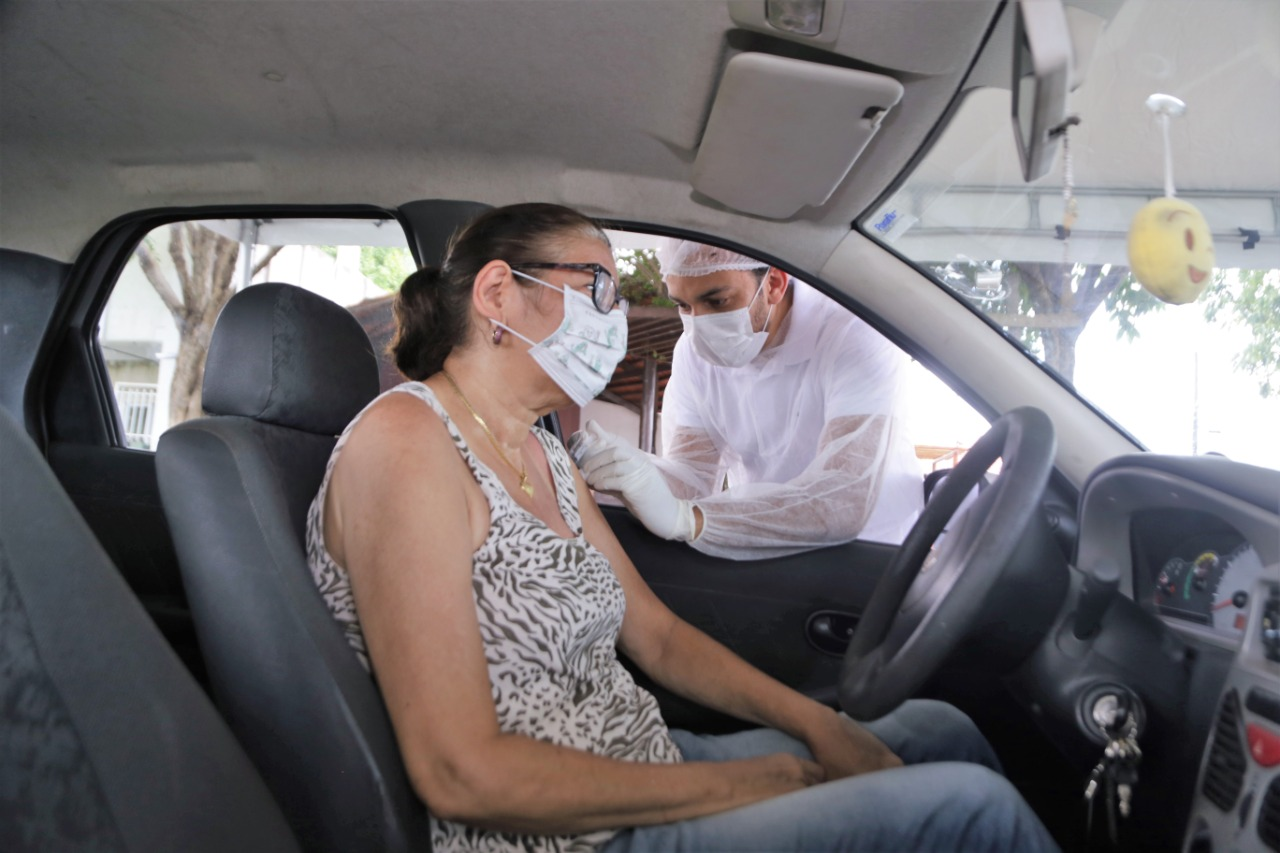 Araguaína terá nova vacinação drive thru contra gripe nesta quarta-feira, 15