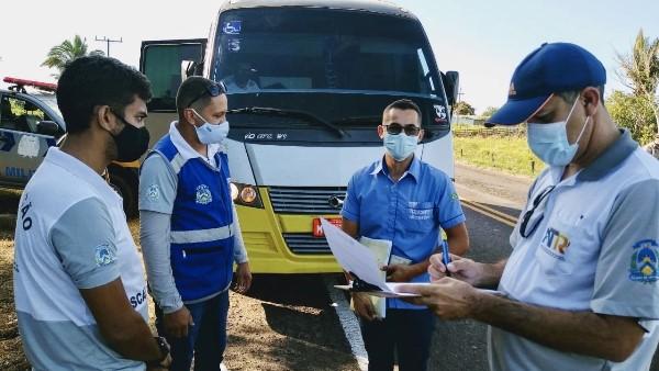 ATR fecha julho com diversas ações positivas para melhoria do sistema de transporte rodoviário intermunicipal de passageiros no Tocantins