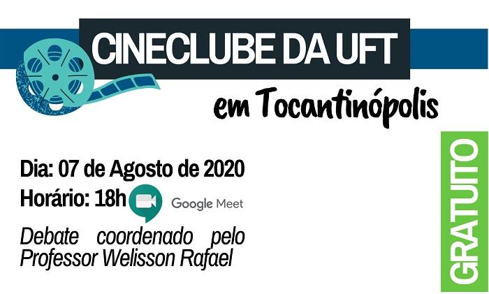 Atividades do Cineclube da UFT retornam nesta sexta (07), abertas para todo o Brasil
