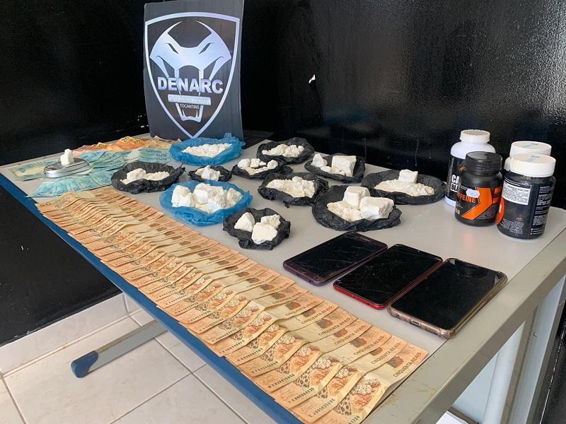 Polícia Civil prende duas mulheres suspeitas de tráfico de drogas em Palmas