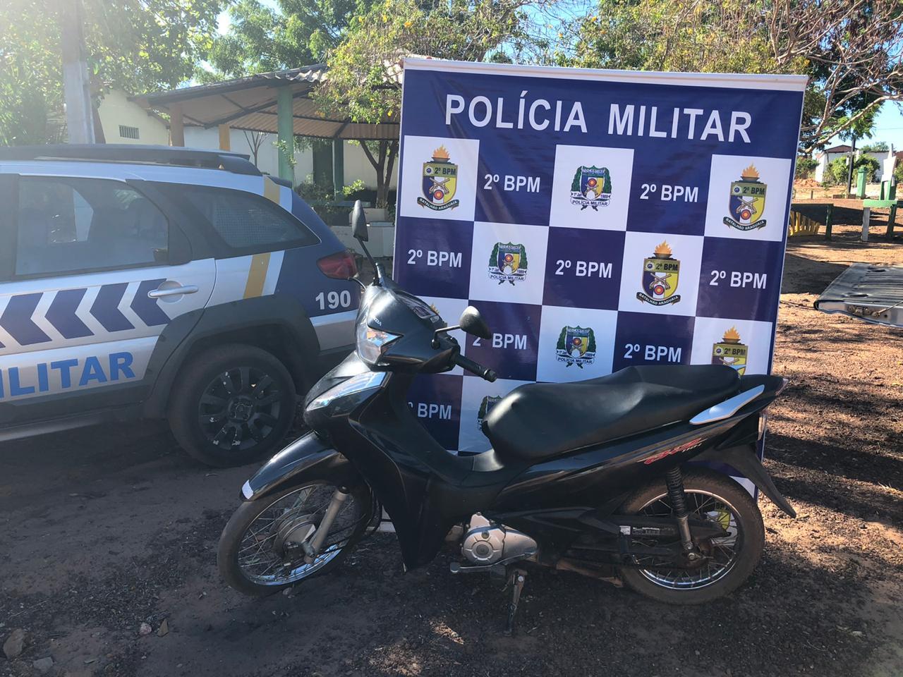 PM recupera duas motos roubadas em Araguaína