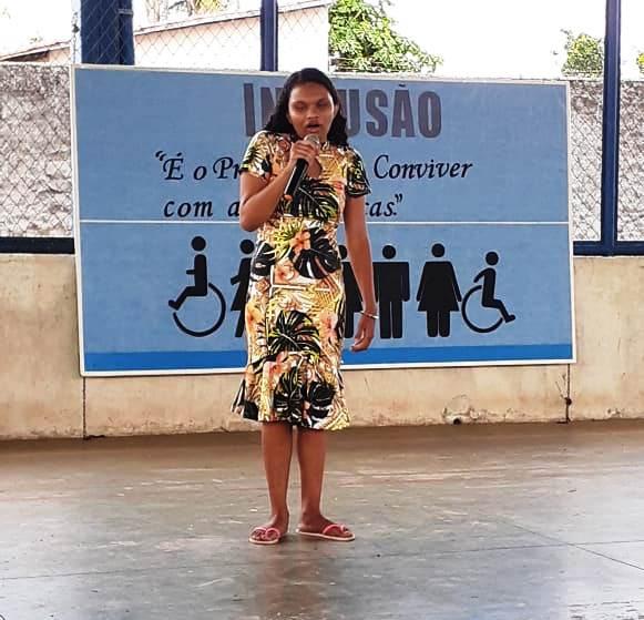 Estudante da Educação Especial produz poema para alertar sobre pandemia